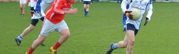 Coláiste Éanna U16s victorious in their semi-final match.