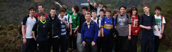 Transition Year Gaisce Hike to Glendalough