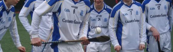 Seó Spóirt and Coláiste Éanna hurlers