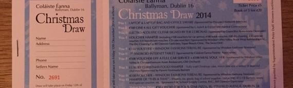 Parents' Association Christmas Draw